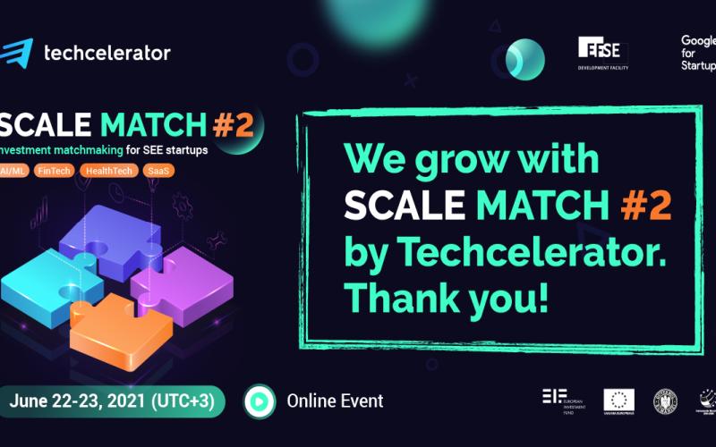 Oraroo part of Techcelerator Scale Match event